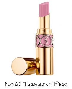Yves Saint Laurent Night 54 Collection Rouge Volupté Shine No.62 Turbulent Pink