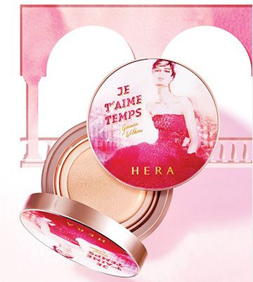 HERA x Garance Wilkens Fall Winter Collection Souvenir De Paris UV Mist Cushion Cover