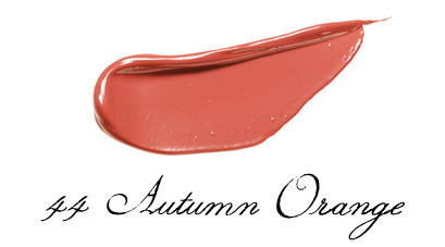 LUNASOL 2017 Autumn Makeup Collection Full Glamour Lips 44 Autumn Orange