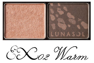 LUNASOL 2017 Autumn Makeup Collection Shine Fall Light Eyes EX02 Warm