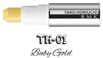 RMK 2017 Autumn Winter Collection Fffuture Fffuture Cheeks Stick TH-01 Baby Gold