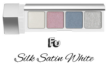 RMK 2017 Autumn Winter Collection Fffuture Fffuture Eyeshadow Palette Fu Silk Satin White