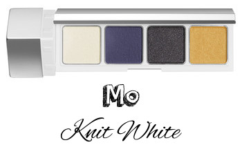RMK 2017 Autumn Winter Collection Fffuture Fffuture Eyeshadow Palette Mo Knit White
