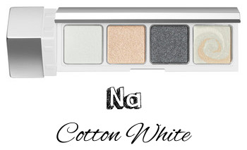RMK 2017 Autumn Winter Collection Fffuture Fffuture Eyeshadow Palette Na Cotton White