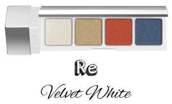 RMK 2017 Autumn Winter Collection Fffuture Fffuture Eyeshadow Palette Re Velvet White