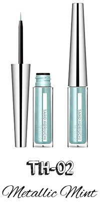 RMK 2017 Autumn Winter Collection Fffuture Ingenious Liquid Eyeliner EX TH-02 Metallic Mint