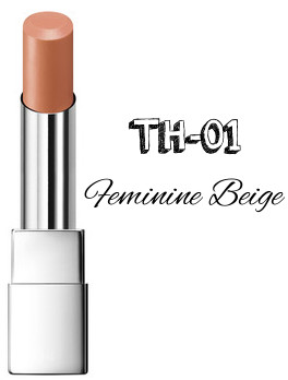 RMK 2017 Autumn Winter Collection Fffuture Irresistible Glow Lips TH-01 Feminine Beige
