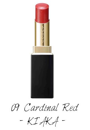 SUQQU 2017 Autumn Winter Collection Moisture Rich Lipstick 09 Cardinal Red KIAKA
