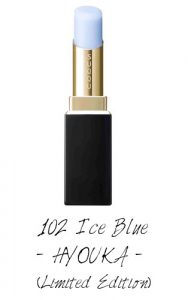 SUQQU 2017 Autumn Winter Collection Moisture Rich Lipstick 102 Ice Blue HYOUKA (Limited Edition)
