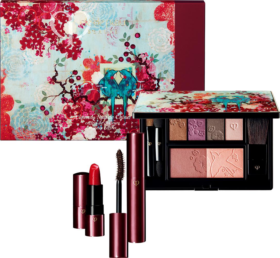 Clé de Peau Beauté 2017 Holiday Collection Nuit de Chine coffret de couleurs