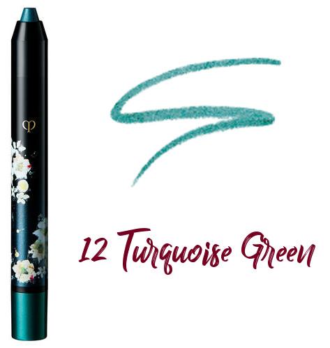Clé de Peau Beauté 2017 Holiday Collection Nuit de Chine crayons pour les yeux 12 Turquoise Green