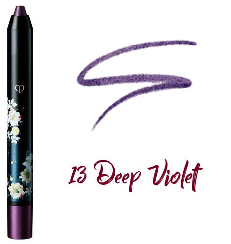 Clé de Peau Beauté 2017 Holiday Collection Nuit de Chine crayons pour les yeux 13 Deep Violet