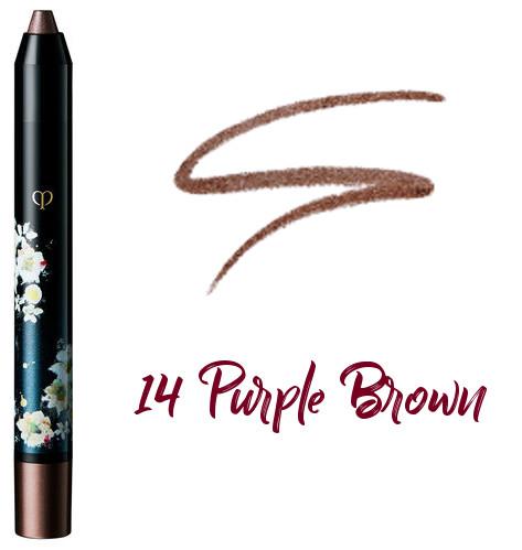 Clé de Peau Beauté 2017 Holiday Collection Nuit de Chine crayons pour les yeux 14 Purple Brown
