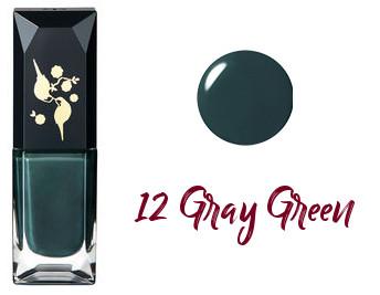Clé de Peau Beauté 2017 Holiday Collection Nuit de Chine vernis à ongles trio 12 Gray Green