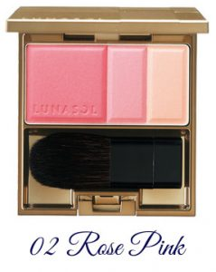 LUNASOL Winter 2017 Candle Night Collection Coloring Soft Cheeks 02 Rose Pink