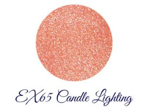 LUNASOL Winter 2017 Candle Night Collection Nail Finish N EX65 Candle Lighting