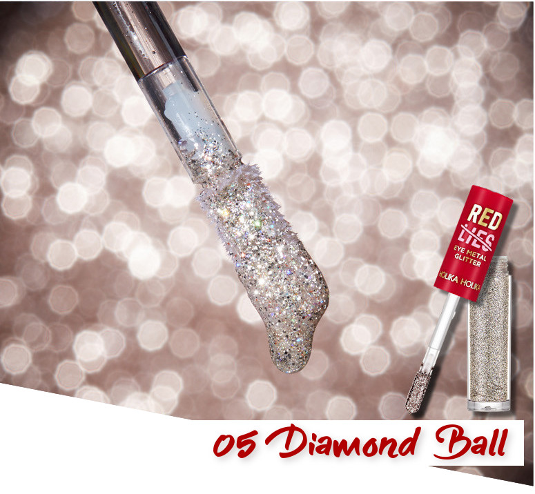 Holika Holika Red Lies Collection (Holiday Edition) Eye Metal Glitter 05 Diamond Ball