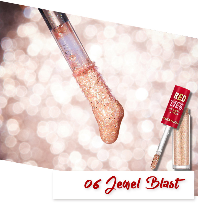 Holika Holika Red Lies Collection (Holiday Edition) Eye Metal Glitter 06 Jewel Blast
