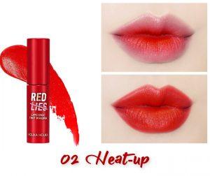 Holika Holika Red Lies Collection (Holiday Edition) Lipconic Tint Magma 02 Heat-up