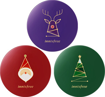 Innisfree 2017 Green Christmas Cushion Case