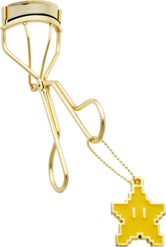 Shu Uemura x Super Mario Bros Holiday Collection 2017 Invincible Superstar Premium Gold Curler