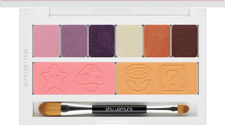 Shu Uemura x Super Mario Bros Holiday Collection 2017 Peach's Eye And Cheek Palette