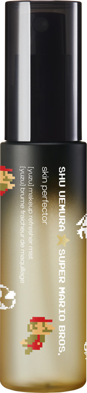 Shu Uemura x Super Mario Bros Holiday Collection 2017 Skin Perfector- Yuzu Makeup Refresher Mist