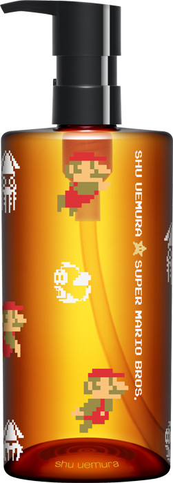 Shu Uemura x Super Mario Bros Holiday Collection 2017 Ultime8 Sublime Beauty Cleansing Oil