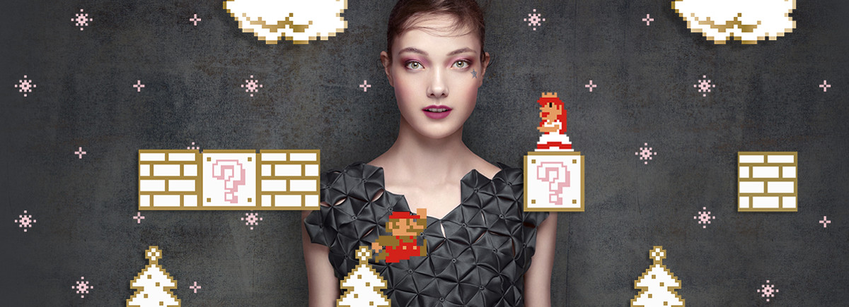 Shu Uemura x Super Mario Bros Holiday Collection 2017
