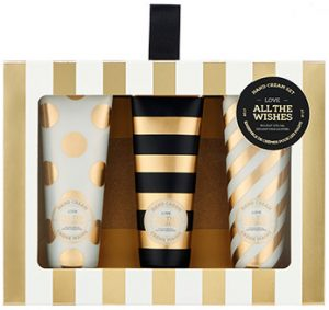 The Face Shop 2017 Holiday Edition All the wishes Hand Cream 3 piece set