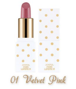 The Face Shop 2017 Holiday Edition All the wishes Joyful Mini Lipstick Kit 01 Velvet Pink