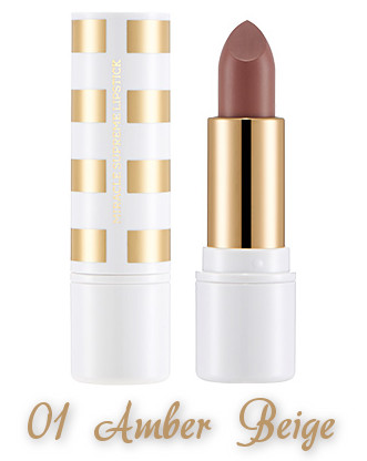 The Face Shop 2017 Holiday Edition All the wishes Miracle Supreme Lipstick 01 Amber Beige