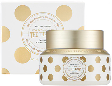 The Face Shop 2017 Holiday Edition All the wishes Therapy Oil Blending Cream