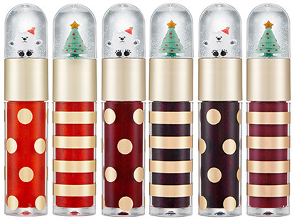 The Face Shop 2017 Holiday Edition All the wishes Twinkle Snowing Tint