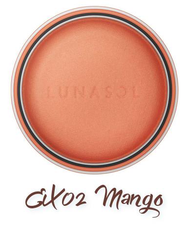 LUNASOL 2018 Spring Makeup Colletion Macaron Nuance Eyes EX02 Mango