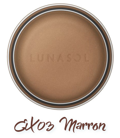 LUNASOL 2018 Spring Makeup Colletion Macaron Nuance Eyes EX03 Marron