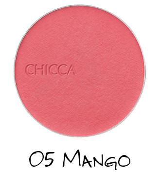 CHICCA 2018 Spring Collection FRESH Flawless Glow Flush Blush Powder 05 Mango