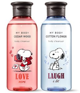 Innisfree 2018 Happy Snoopy Collection My Body Body Cleanser