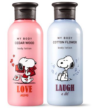 Innisfree 2018 Happy Snoopy Collection My Body Body Lotion