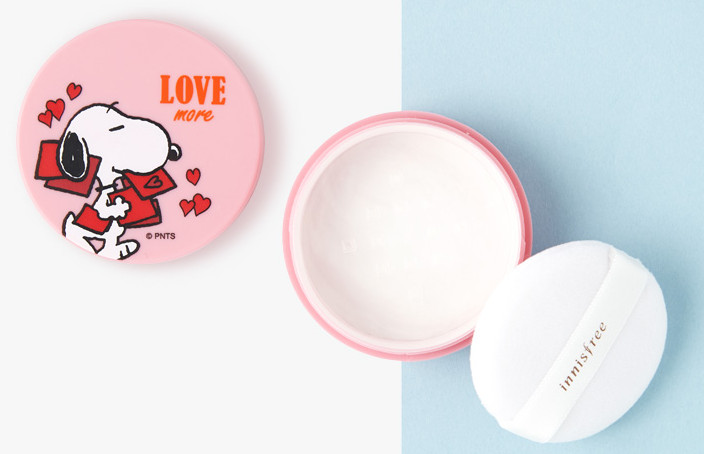 Innisfree 2018 Happy Snoopy Collection NoSebum Mineral Powder