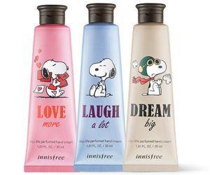 Innisfree 2018 Happy Snoopy Collection Perfumed Hand Cream
