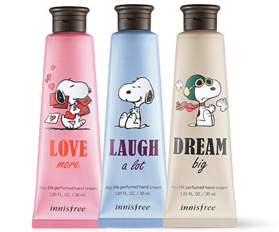 Innisfree 2018 Happy Snoopy Collection Perfumed Hand Cream
