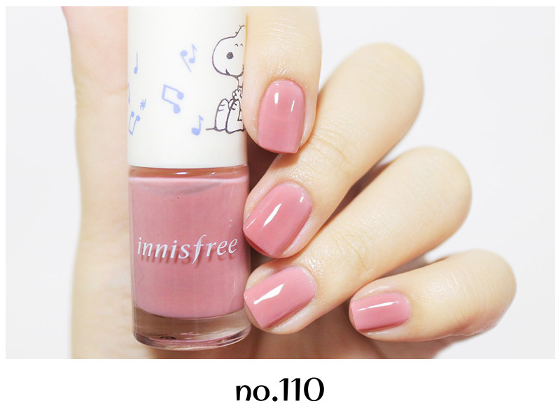 Innisfree 2018 Happy Snoopy Collection Real Color Nail no.110