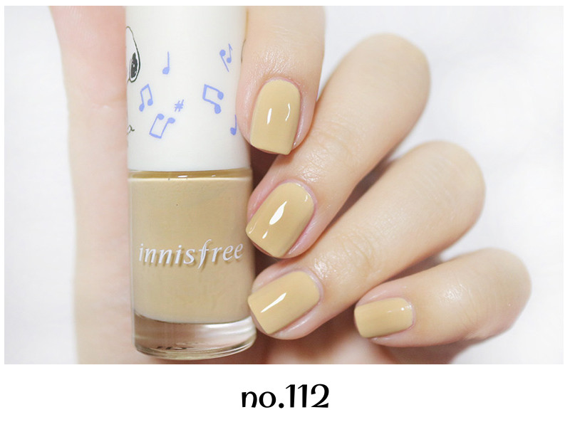 Innisfree 2018 Happy Snoopy Collection Real Color Nail no.112