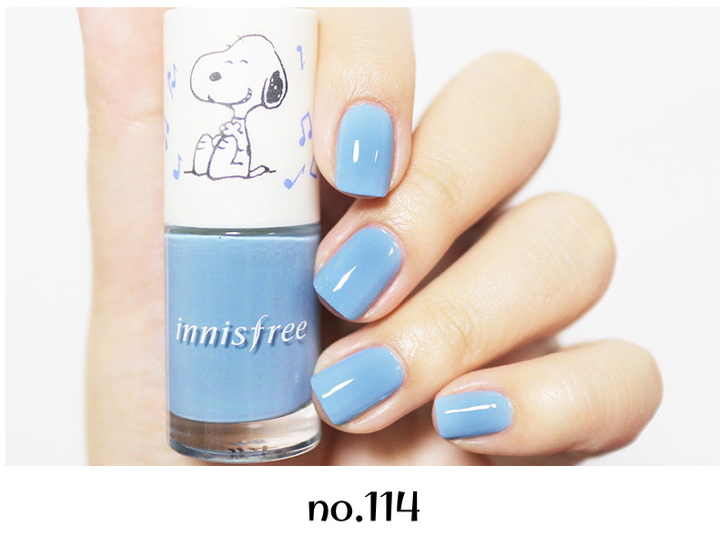 Innisfree 2018 Happy Snoopy Collection Real Color Nail no.114
