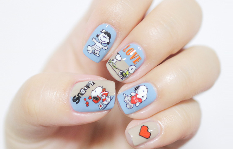 Innisfree 2018 Happy Snoopy Collection Self Nail Sticker