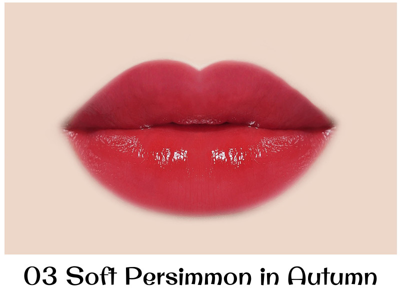 Innisfree 2018 Happy Snoopy Collection Vivid Creamy Tint 03 Soft Persimmon in Autumn