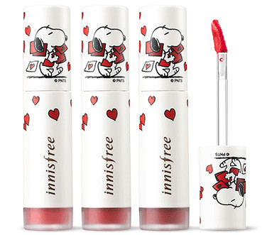 Innisfree 2018 Happy Snoopy Collection Vivid Creamy Tint
