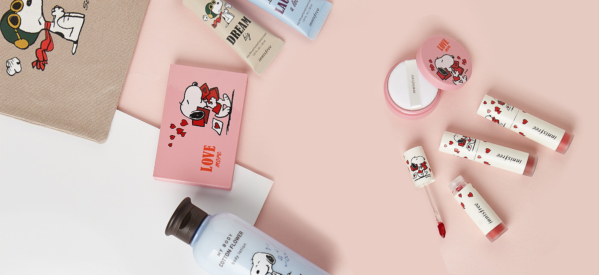 Innisfree 2018 Happy Snoopy Collection