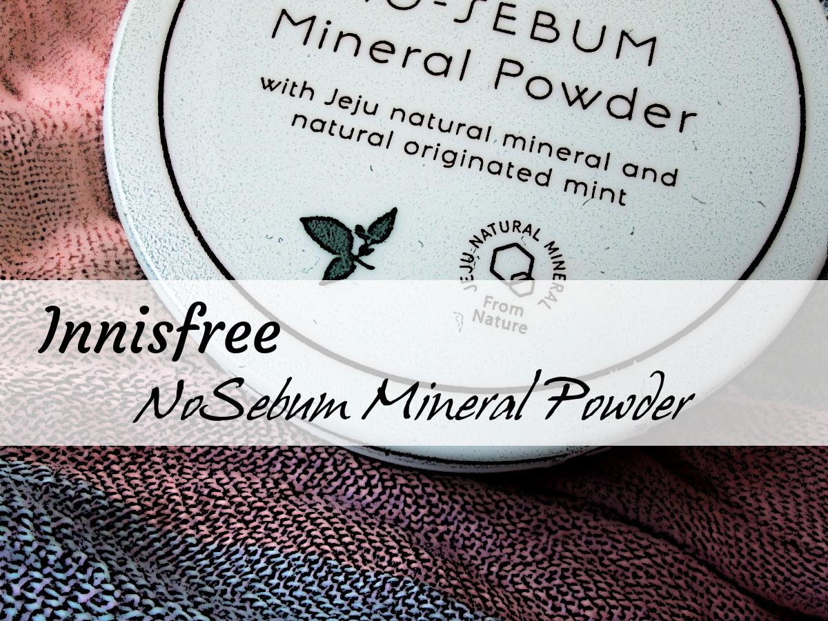 Innisfree NoSebum Mineral Powder